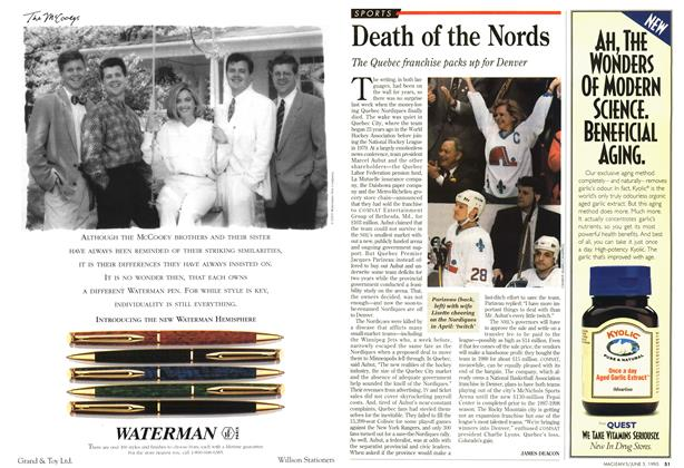 Article Preview: Death of the Nords, June 1995 | Maclean's