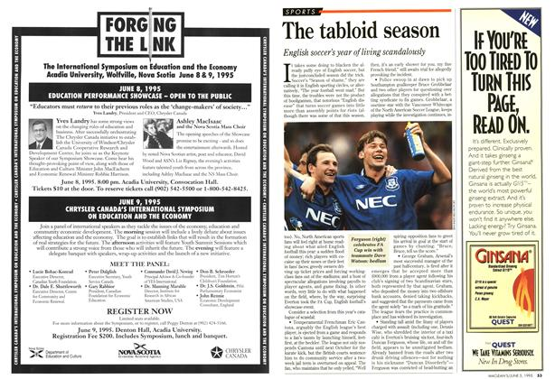 Article Preview: The tabloid season, June 1995 | Maclean's