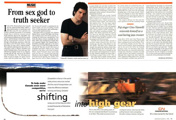 Article Preview: From sex god to truth seeker, June 1995 | Maclean's