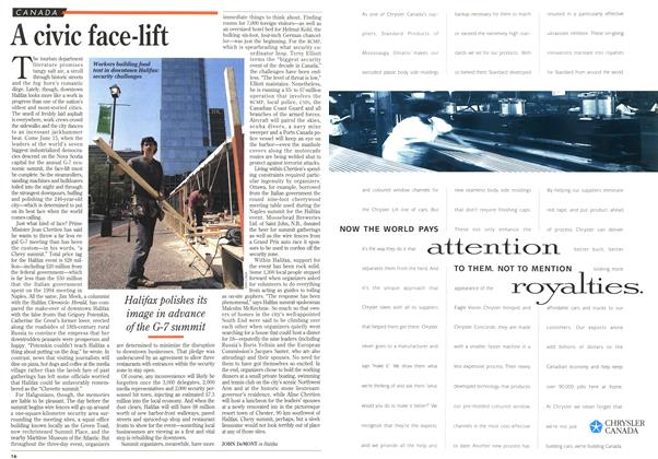 Article Preview: A civic face-lift, June 1995 | Maclean's