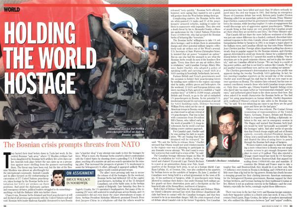 Article Preview: HOLDING THE WORLD HOSTAGE, June 1995 | Maclean's