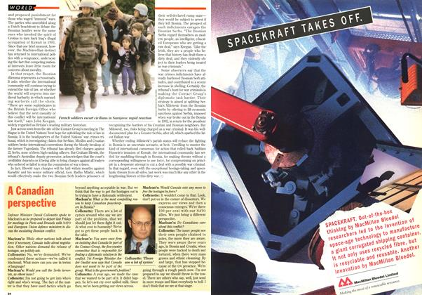Article Preview: A Canadian perspective, June 1995 | Maclean's