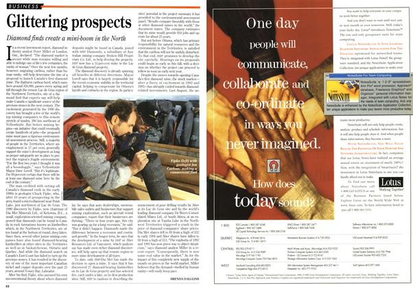 Article Preview: Glittering prospects, June 1995 | Maclean's