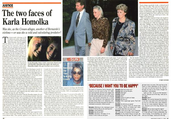 Article Preview: The two faces of Karla Homolka, June 1995 | Maclean's