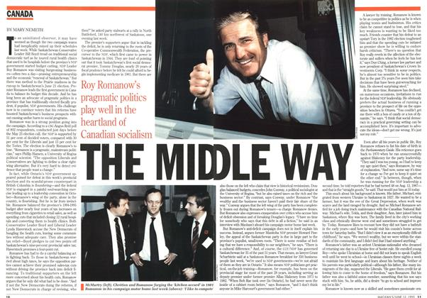 Article Preview: THE MIDDLE WAY, June 1995 | Maclean's