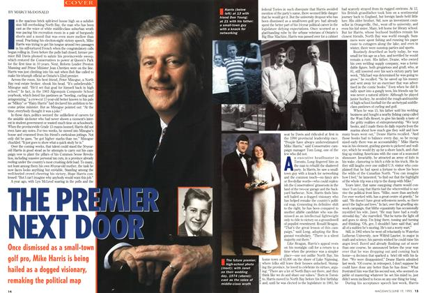 Article Preview: THE PREMIER NEXT DOOR, June 1995 | Maclean's