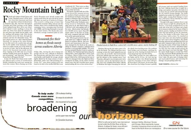 Article Preview: Rocky Mountain high, June 1995 | Maclean's