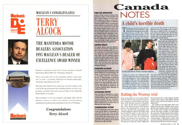 Article Preview: Canada NOTES, June 1995 | Maclean's