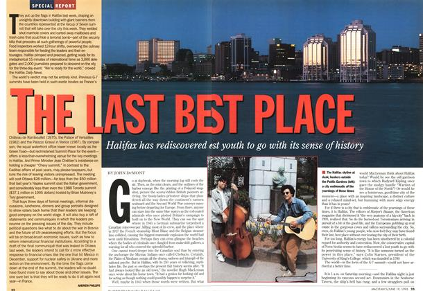 Article Preview: THE LAST BEST PLACE, June 1995 | Maclean's