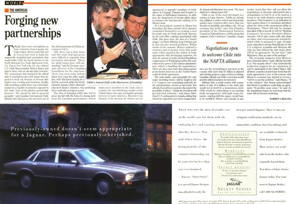 Article Preview: Forging new partnerships, June 1995 | Maclean's