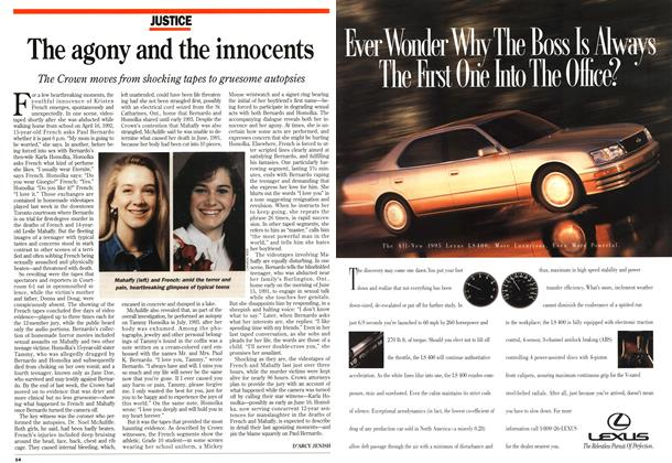Article Preview: The agony and the innocents, June 1995 | Maclean's