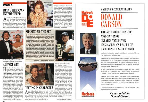 Article Preview: PEOPLE, June 1995   Maclean's
