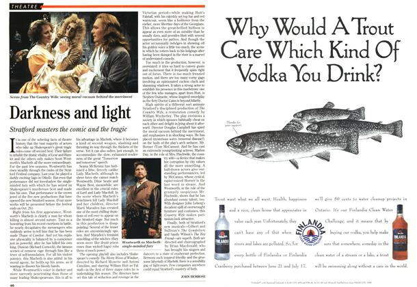 Article Preview: Darkness and light, June 1995 | Maclean's