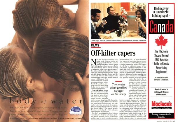 Article Preview: Off-kilter capers, June 1995 | Maclean's