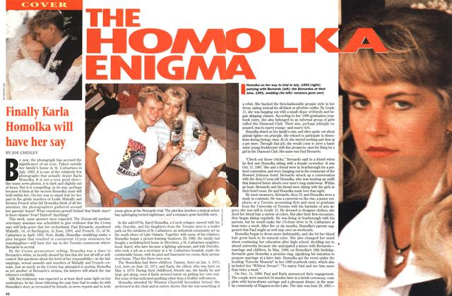 Article Preview: THE HOMOLKA ENIGMA, June 1995 | Maclean's