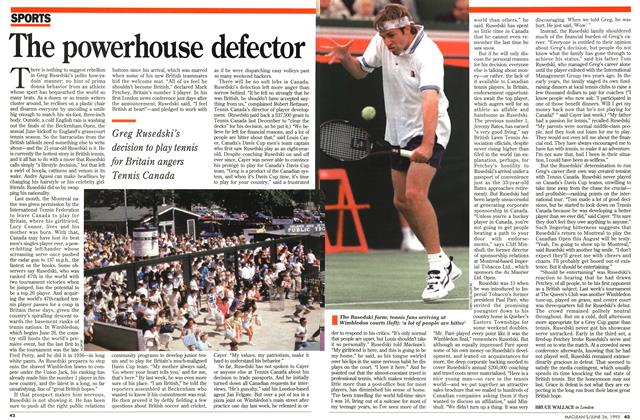 Article Preview: The powerhouse defector, June 1995 | Maclean's