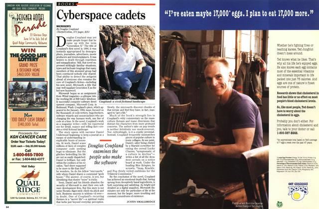 Article Preview: Cyberspace cadets, June 1995   Maclean's