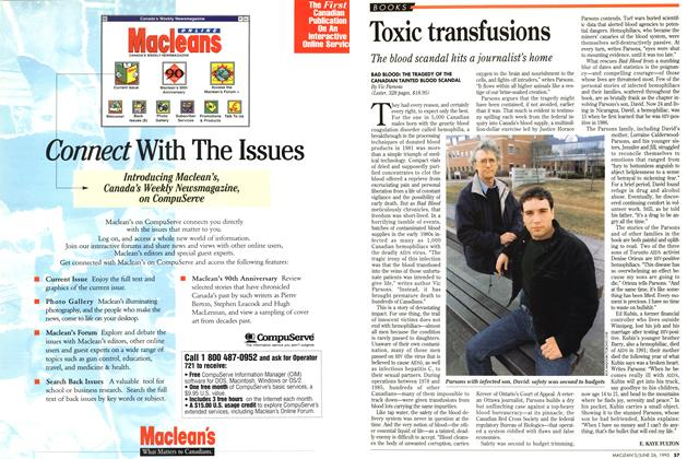Article Preview: Toxic transfusions, June 1995 | Maclean's