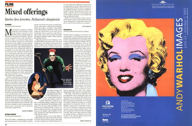 Article Preview: BATMAN FOREVER, June 1995 | Maclean's