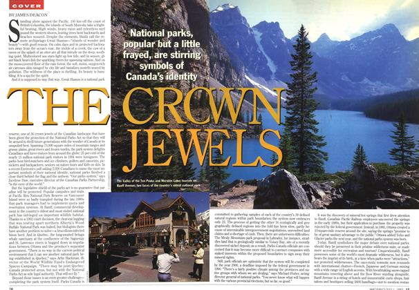 Article Preview: THE CROWN JEWELS, July 1995 | Maclean's
