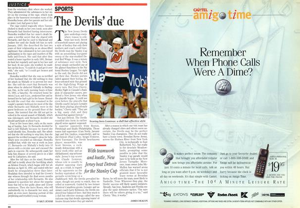 Article Preview: The Devils' due, July 1995 | Maclean's