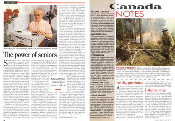 Article Preview: The power of seniors, July 1995 | Maclean's