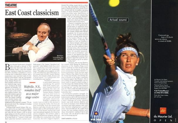 Article Preview: East Coast classicism, July 1995 | Maclean's
