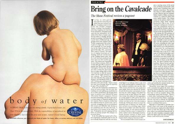 Article Preview: Bring on the Cavalcade, July 1995 | Maclean's