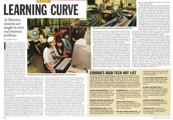 Article Preview: LEARNING CURVE, July 1995 | Maclean's