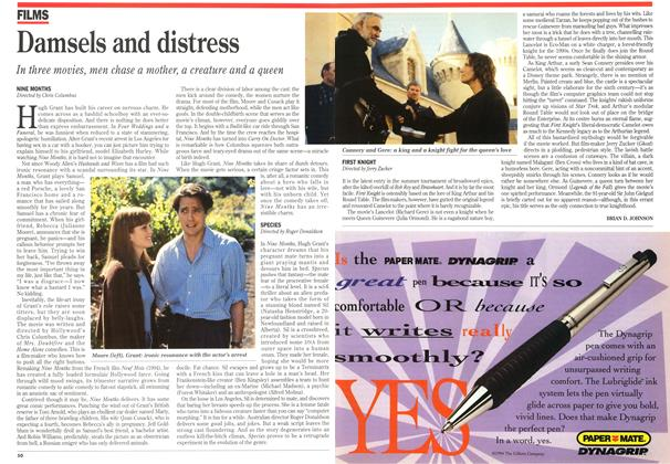 Article Preview: Damsels and distress, July 1995 | Maclean's