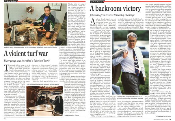 Article Preview: A backroom victory, July 1995 | Maclean's