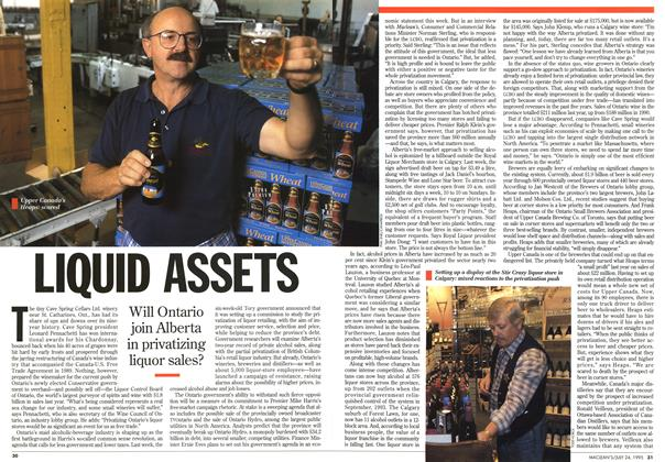 Article Preview: LIQUID ASSETS, July 1995 | Maclean's