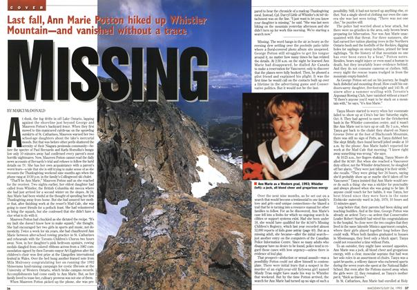 Article Preview: MISSING, July 1995 | Maclean's