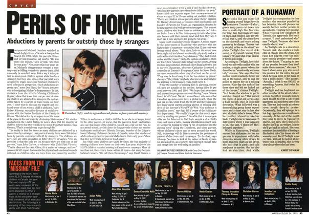 Article Preview: PORTRAIT OF A RUNAWAY, July 1995 | Maclean's