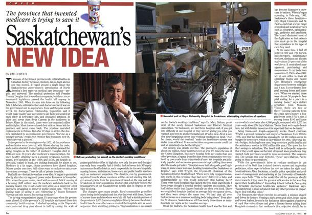 Article Preview: Saskatchewan's NEW IDEA, July 1995 | Maclean's