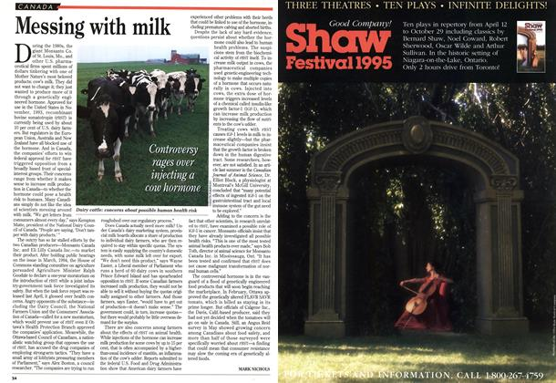 Article Preview: Messing with milk, July 1995 | Maclean's
