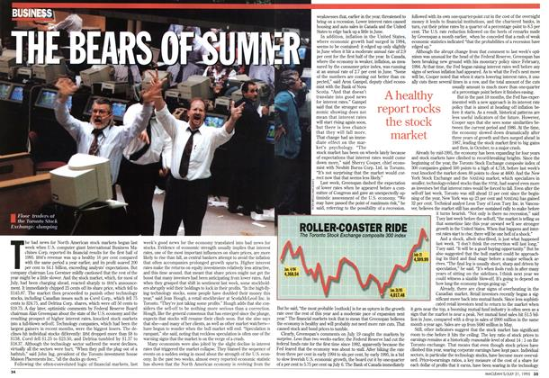Article Preview: THE BEARS OF SUMMER, July 1995 | Maclean's