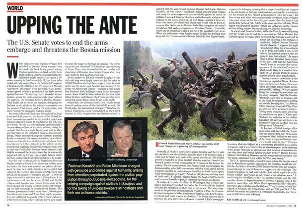 Article Preview: UPPING THE ANTE, August 1995 | Maclean's