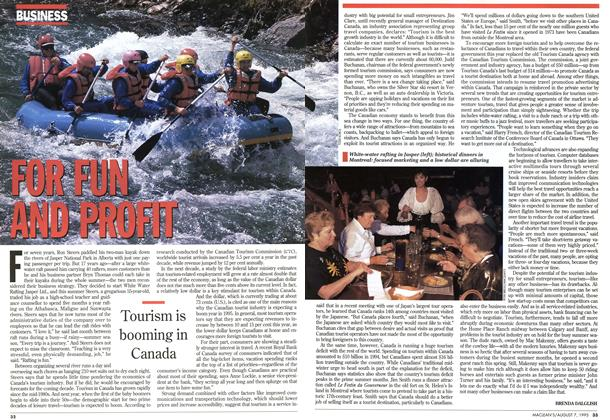 Article Preview: FOR FUN AND PROFIT, August 1995 | Maclean's
