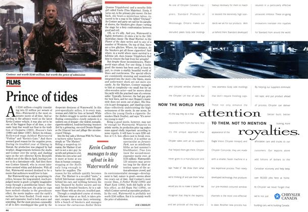 Article Preview: Prince of tides, August 1995 | Maclean's