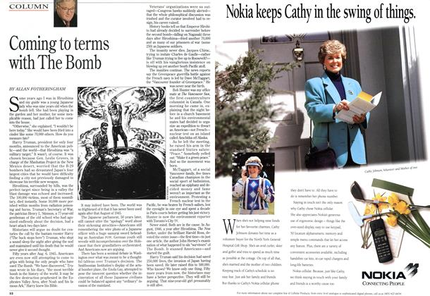 Article Preview: Coming to terms with The Bomb, August 1995 | Maclean's