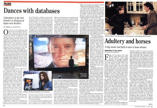 Article Preview: Dances with databases, August 1995 | Maclean's