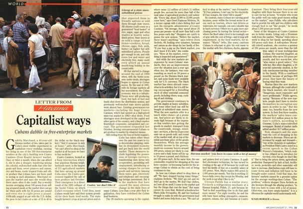 Article Preview: Capitalist ways, August 1995 | Maclean's
