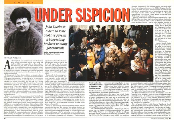 Article Preview: UNDER SUSPICION, August 1995 | Maclean's