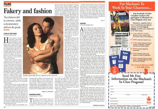 Article Preview: Fakery and fashion, August 1995 | Maclean's
