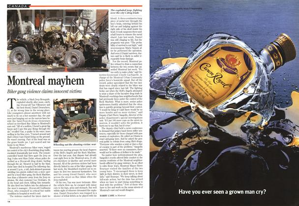 Article Preview: Montreal mayhem, August 1995 | Maclean's
