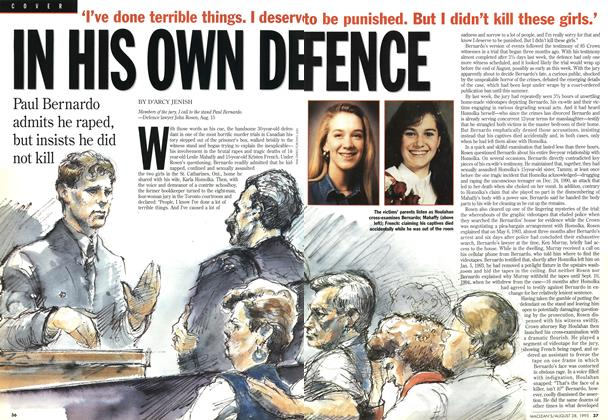 Article Preview: IN HIS OWN DEFENCE, August 1995 | Maclean's