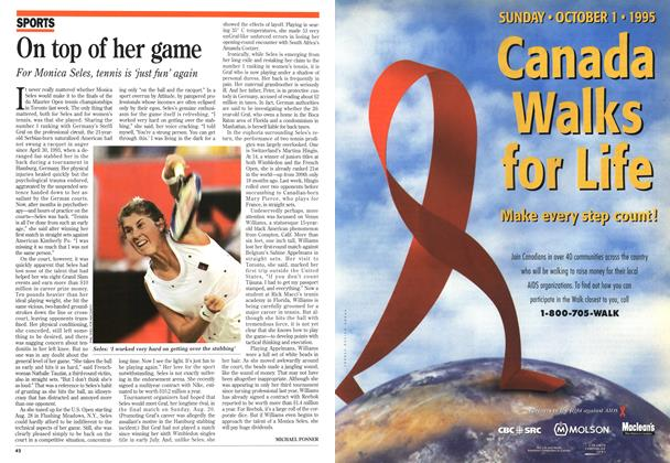 Article Preview: On top of her game, August 1995 | Maclean's