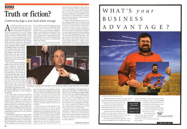 Article Preview: Truth or fiction?, August 1995 | Maclean's