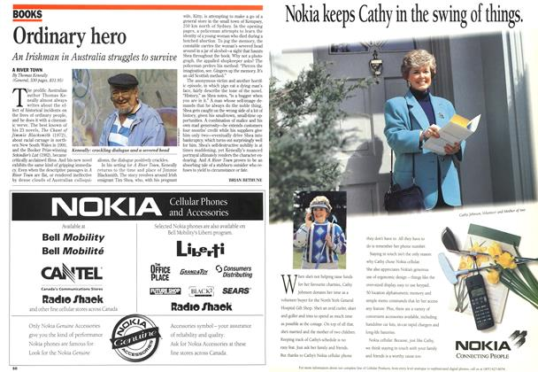 Article Preview: Ordinary hero, August 1995 | Maclean's